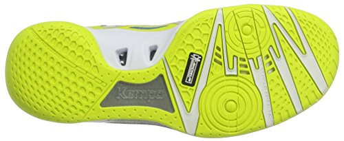 Kempa Men's Wing Lite Trainers, Bleu/Jaune, 14 Yellow (2)