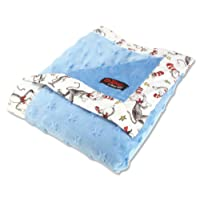 Trend Lab Dr. Seuss Receiving Blanket, Cat In The Hat Blue