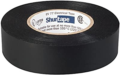 Shurtape EV 57 General Purpose Colored Vinyl Electrical Tape, UL Listed/CSA Approved