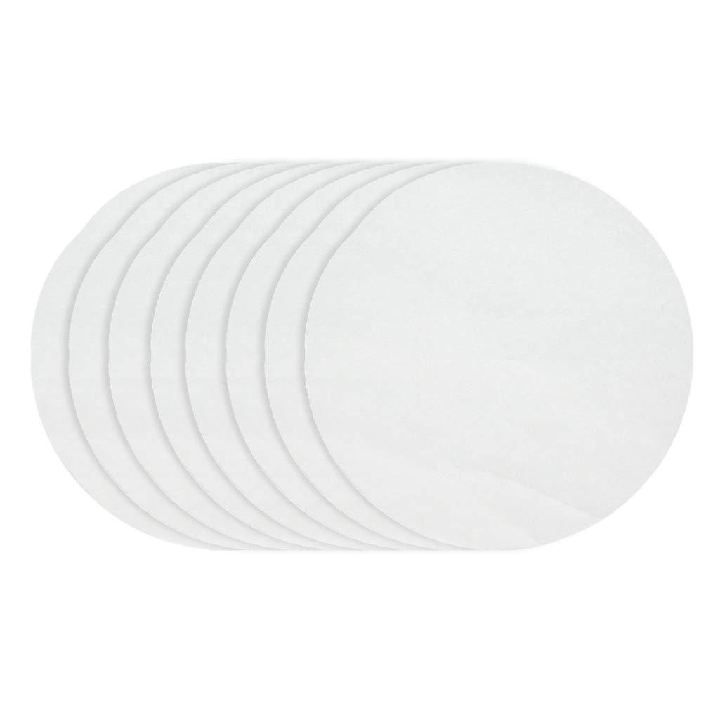 40pc Ancjiape Feuilles de Cuisson Rondes en Papier sulfuris/é pour g/âteaux 15//20//24//32 cm 【 33182】 Diameter 24cm Taille L