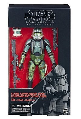 Clone Commander Gree 6 inch action figure Star Wars Black Series exclusive