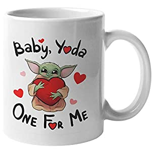 Baby Yoda Coffee Mug (Baby, Yoda one for me)