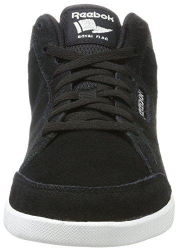 Reebok Royal Anfuso Ms, Zapatillas de Deporte Para Mujer Negro (Black / Coal / Sil Met / White)