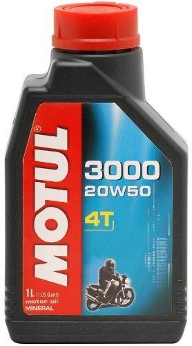 Motul 2800QTA; 3000 Petroleum Oil 20W-50 1Qt Made by Motul