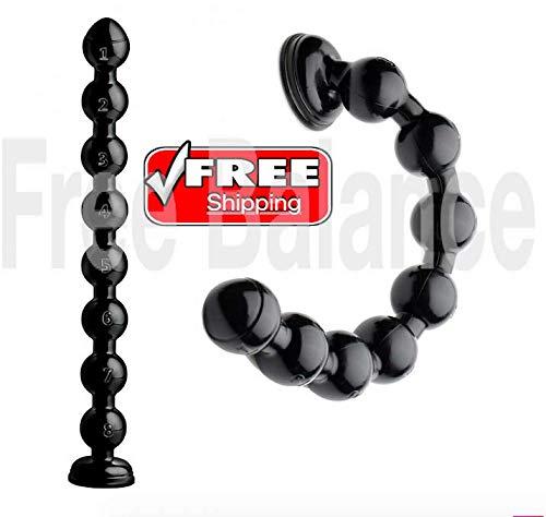 FreeBalance 19 Inch Beaded Thick Snake Black