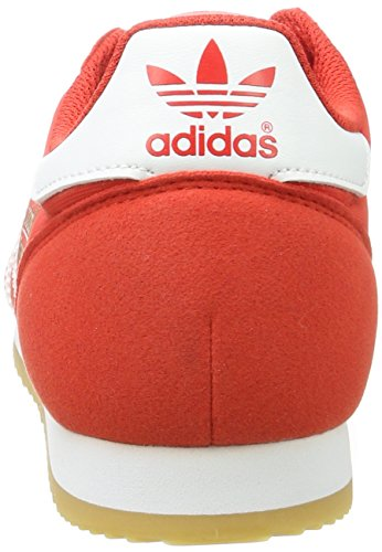 adidas Dragon OG Chaussures de Fitness Mixte Adulte Rouge Rouge