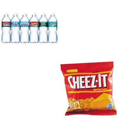 kitkeb12653nle101243-value-kit-kelloggs-cheez-it-crackers-keb12653-and-nestle-bottled-spring-water-n