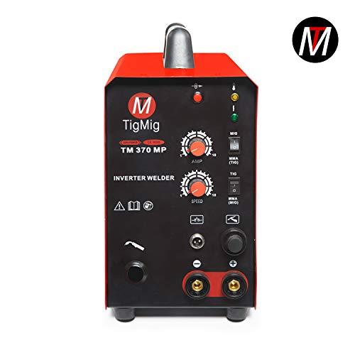 tm370mp Inverter Multi Processo 3 X 1 - soldadura TIG MIG Electrodo: Amazon.es: Bricolaje y herramientas