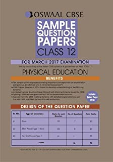 Oswaal cbse sample question papers for class 12 physical education oswaal cbse sample question papers for class 12 physical education for 2017 exams malvernweather Image collections