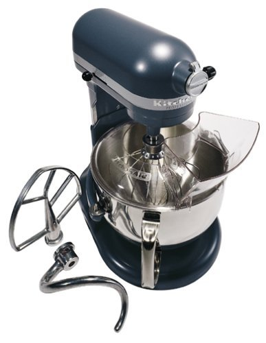 KitchenAid KP26M1XBS Professional 600 Series 6-Quart Stand Mixer, Blue Steel