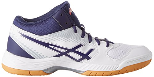 Asics Women's Gel-Task Mt Volleyball Shoes White (White/Astral Aura/Mid Grey 0133) 3XBHFvcx