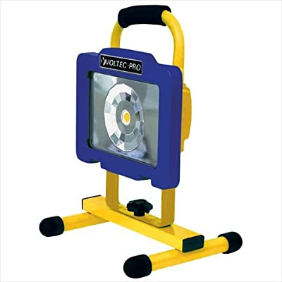 Voltec 08-00712 12 Watt Cob LED Rechargeable Work Light - 800 Lumens, Case Of 2