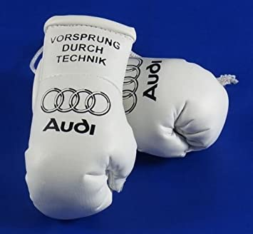Audi Mini-boxhandschuhe schwarz vorsprung durk tecknic