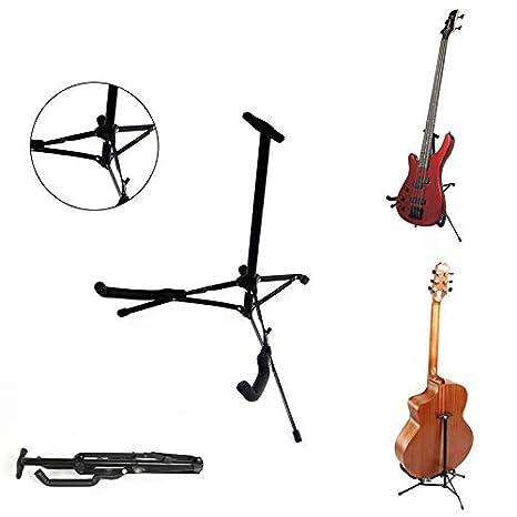 Soporte plegable para trípode de guitarra, bajo, guitarra acústica ...
