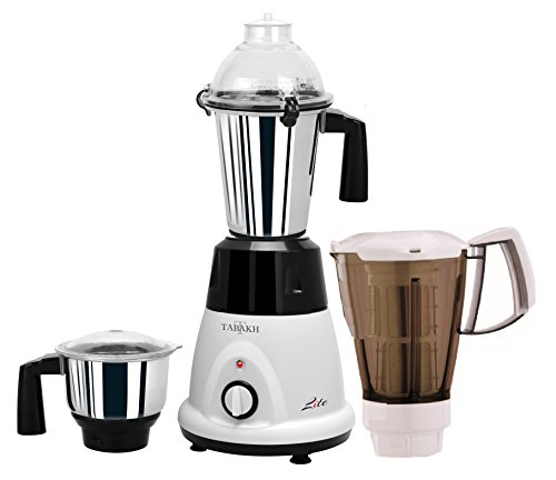 Tabakh Lite Pro Indian Mixer Grinder | 2-Jar + Juicer | 750 Watts | 110-Volts