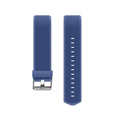 MoreFit Slim HR Plus Band, Adjustable Replacement Strap for MoreFit Slim HR Plus Smart Wristbands, Blue