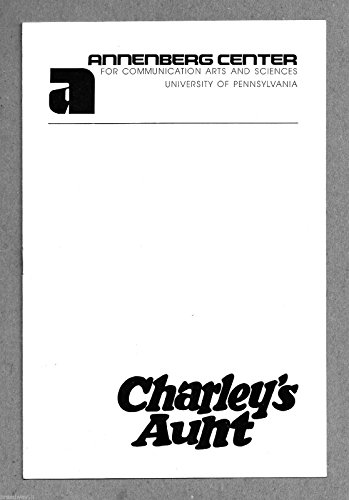 "Paxton Whitehead ""CHARLEY'S AUNT"" James Valentine / John Horton 1974 Playbill"