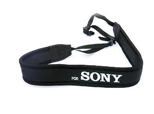 Rainbowimaging NSSN Anti-Slip Elastic Neoprene Neck Strap for Sony DSLR (Black)