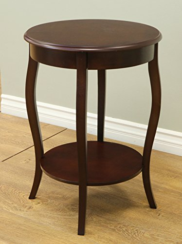 Traditional Walnut End Table - 9