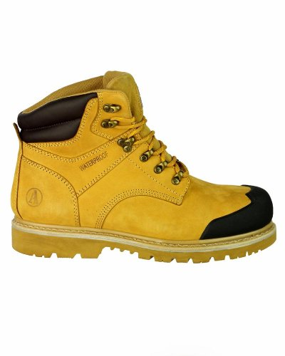 New Amblers Safety FS226Sicherheit Herren Stiefel Schnürschuhe Leder Schuh Slip On Schuhe