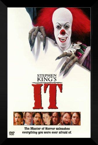 It Framed Movie Poster: Stephen King