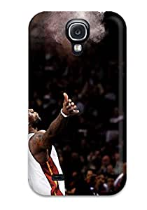 Galaxy S4 Hard Back With Bumper Silicone Gel Tpu Case Cover Lebron James