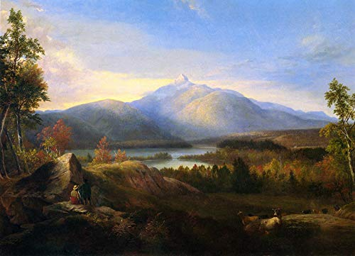 Collection Mount Canvas (Alvan Fisher Mount Chocorua 1860 Private Collection 30