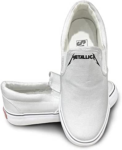 Metallica Logo Mens Casual Sneakers Shoes Classic Boat Shoes