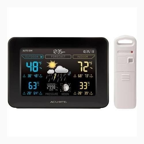 Acurite Color Wireless Weather Station Outdoor Indoor Home F