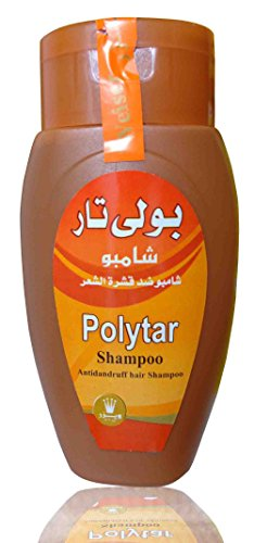 Polytar Hair Shampoo Anti Dandruff Itch Scalp Cleanser