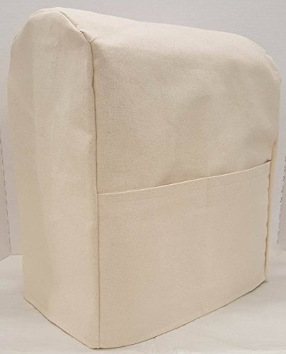 Penny's Needful Things Canvas Cover Compatible for Kitchenaid Stand Mixer (Natural, 7qt Proline/8qt Commercial)