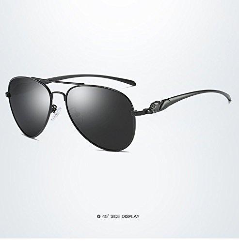 de clásico Sol Mujeres Gafas de conducción polarizadas Marca Nuevo de diseño Gafas 1 de para Adultos Sol de Sol para ZX Gafas Espejo Retro de Ea1qE