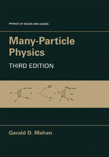 Many-Particle Physics (Physics of Solids and Liquids)