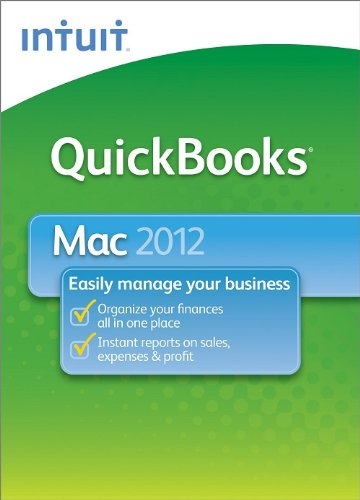 QuickBooks 2012 for Mac [Download] [OLD VERSION]