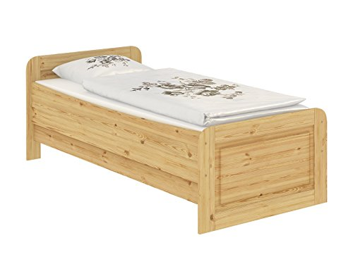 60.42-09 Seniorenbett Massivholz 90 x 200 cm, extra hohes Bett