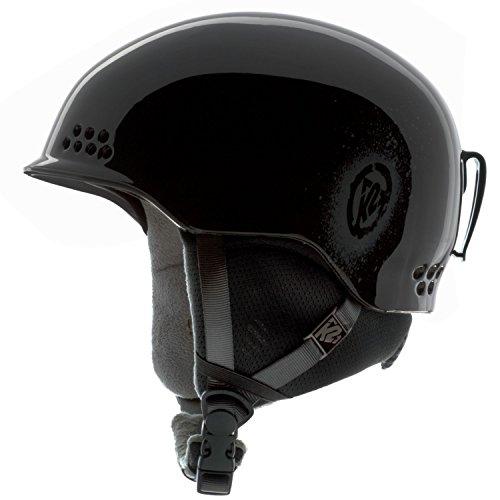(K2 Rival Ski Helmet Black Mens Sz M)