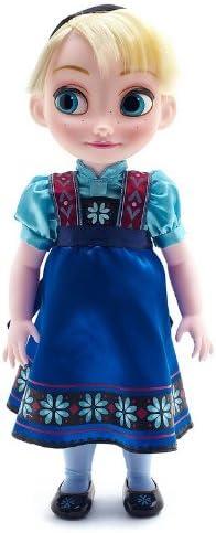Disney Store Elsa 40cm bambola Animators Il regno di ghiaccio