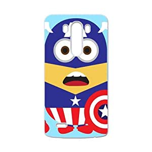 Performance Designed Products Minions&Captain America Custom Case for LG G3