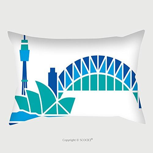 Custom Microfiber Pillowcase Protector Sydney Icon 618171227 Pillow Case Covers Decorative (Wicker Patio Furniture Sydney)