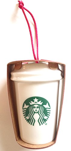 Disney Parks Exclusive Starbucks White Ceramic Cold Cup