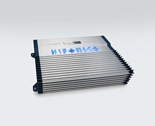 (Hifonics BXX1200.1D Brutus Class D 1200W RMS 1 Ohm Mono Car Subwoofer Amplifier)