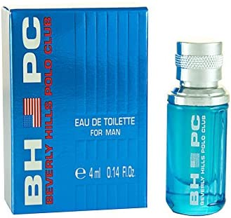 BHPC SPORT M EDT 4ML MINI BEVERLY HILLS POLO CLUB - BLUE: Amazon ...