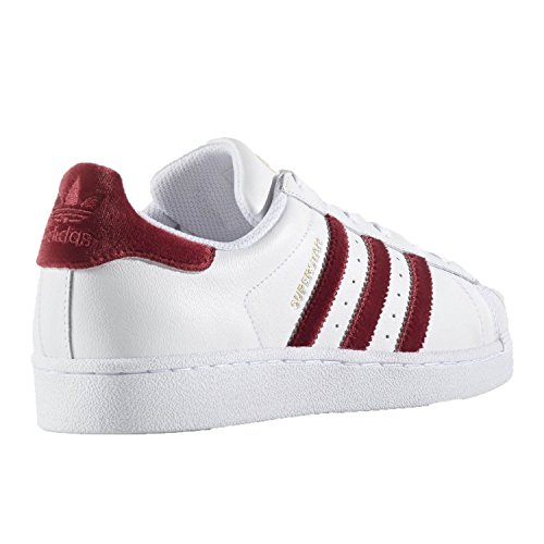 buy cheap marketable cheap sale outlet store Adidas SUPERSTAR W womens fashion-sneakers AC7162_6.5 - FOOTWEAR WHITE/BURGUNDY/FOOTWEAR WHITE GS8Ao7y