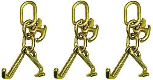 B/A Products 11-7CL Hook Cluster, Mini J, R and T, 2.5 Height, 4.5 Width, 7 Length (3-(Pack))
