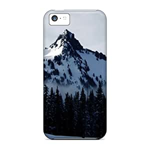 New Design Shatterproof Ncx5055ZEoN Case For Iphone 5c (mt Rainier National Park 66)