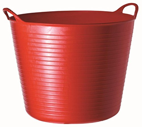 TubTrug SP26R Medium Red Flex Tub, 26 Liter