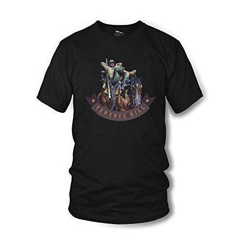 Terence Hill Shirt schwarz Vier Fäuste für ein Halleluja Renato Casaro Edition
