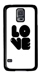 Samsung Galaxy S5 shop cover Cool Love Quotes Cute PC Black Custom Samsung Galaxy S5 Case Cover