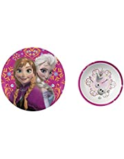 """Disney Frozen 8"""" Elsa and Anna Plate and 5.5"""" Olaf Bowl"""