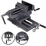 New 5'' Cross Drill Press Vise X-Y Clamp Machine Slide Metal Milling 2 Way HD